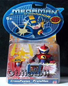 Comes new and sealed in it's box with his. Also included is the. HEATSLIDE Battlechip which slots into the Advanced Pet Personal hand held device which. helped Megaman battle evil! He is one of the first Robot Masters created capable of acting.   eBay!