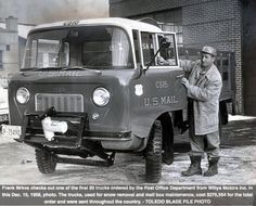 1958 Jeep FC-170 Forward Control used by the U.S. Post Office Department.