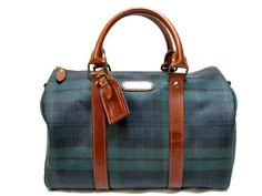 vintage tartan by Ralph Lauren. I owned this purse. I wish I still had it. It was a beauty.