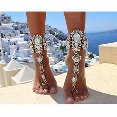 Beach wedding Anklet Jewelry, Anklet Bracelet, Body Jewelry, Feet Jewelry, Foot Bracelet, Chain Jewelry, Jewelry Accessories, Beach Accessories, Jewelry Bracelets
