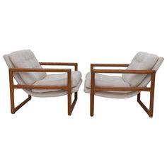 Pair of Milo Baughman Lounge Chairs — Flow Modern | Palm Springs, CA