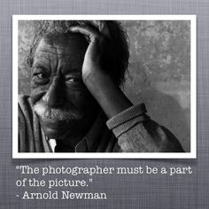 Arnold Newman Quote Photo