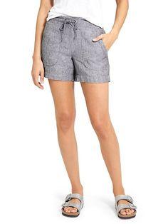 Heathered Linen Short