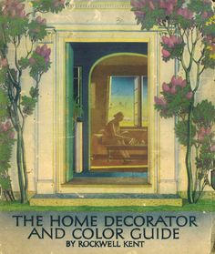 The Home Decorator and Color Guide, 1939.    This paint company catalog features artwork and decorating ideas by Rockwell Kent. From the Association for Preservation Technology (APT) - Building Technology Heritage Library, an online archive of period architectural trade catalogs. It contains thousands of catalogs. Select your material  and become an architectural time traveler as you flip through the pages.