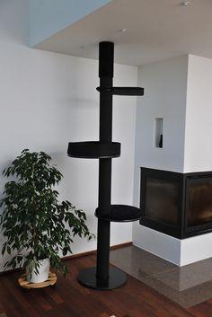 Kattens No. 1 - Danish cat furniture, in Black, grey and white