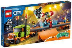 Lego City, Show Trucks, Stunts, Nerf, Truck, Waterfalls