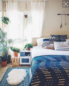 Bedroom love #bohodecor