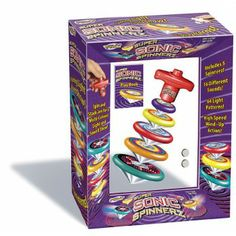 Sonic Spinnerz | Edmund Scientific, $9.95