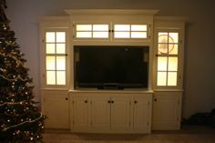 Built-in Entertainment Center - Reader's Gallery - Fine Woodworking