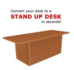 The Original Exclusive Stand UP Desk from Home Concept. This is the one that started it all for us and has helped so many people feel and work better.
