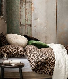 Animal print, bedding, blanket, bed cover, HM Home Leopard Bedroom Decor, Leopard Print Bedroom, Leopard Room, Animal Print Bedroom, Leopard Bedding, Leopard Decor, Leopard Prints, Leopard Spots, Leopard Wall