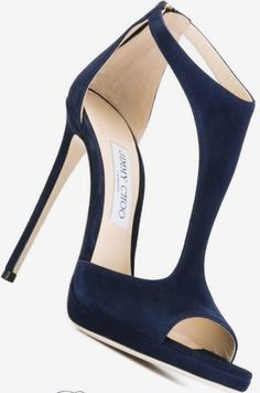 130 officially the most gorgeous bridal shoes- page 5 > Homemytri. Stiletto Shoes, Shoes Heels, Blue Heels, High Heels, Pumps, Stilettos, Jimmy Choo Shoes, Fashion Heels, Dream Shoes
