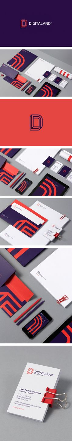 Digitaland logo/identity by for brands