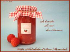 Schnin's Kitchen: Weiße Schokoladen-Erdbeer-Marmelade
