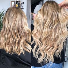 Are you going to balayage hair for the first time and know nothing about this technique? We've gathered everything you need to know about balayage, check! Blonde Ombre Hair, Blonde Hair Looks, Platinum Blonde Hair, Ombre Hair Color, Balayage Hair, Blonde Hair Outfits, Carmel Blonde Hair, Golden Blonde Hair, Blonde Hairstyles