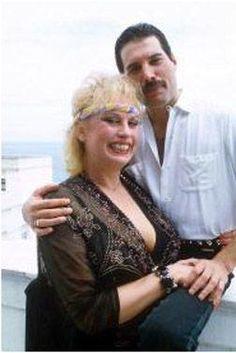 Фредди меркури и барбара валентин фото