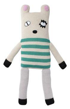 Stanley zoekt naar zijn glas melk..... Help jij hem zoeken? Hij zou ook graag eens nieuwe vriendjes maken waarmee hij fijn kan knuffelen! Hij is in Bolivia met de hand gemaakt van 100% baby Alpaca wol.