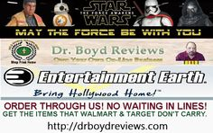Dr. Boyd Reviews has the Action Figures, Bobble Heads, Film Replica, and Memorabilia that you can't find anywhere else. We bare specializing in the Star Wars 'The Force Awakens' and the entire Star Wars Franchise.  Since 1977, fans the world over have been after Star Wars toys, action figures, and replicas. Today, dozens of companies like Gentle Giant and Hasbro make thousands of items, and Entertainment Earth is proud to bring you the absolute best of them from all over the globe!  Star…