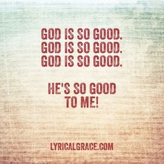 God is good god is great prayer song