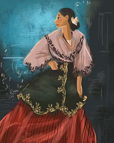 Philippine Mythology, Philippine Art, Filipino Art, Filipino Culture, Philippines Fashion, Philippines Culture, Character Inspiration, Character Design, Filipino Wedding