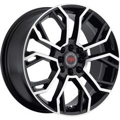 Revolution Racing RR05 18x8 4x100/4x114.3 (4x4.5)  40mm Black Wheels Rims #RevolutionRacing