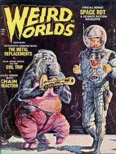 Howie's World of Comics: Weird Worlds Vol 2 #3 (Eeire/1971)