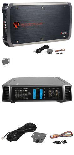 Car Amplifiers Power Acoustik Bamf5500 1d 5500 Watts Mono Block