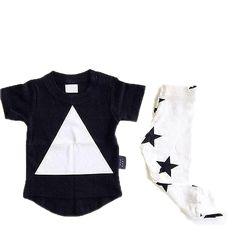 Modern Triangle & Star Set