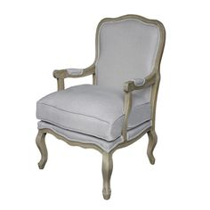 A finely carved Fontain finish mahogany fauteuil, the upholstered cartouche carved back and cushion seat above serpentine floral carved rails, on cabriole legs with knurled feet. Antique White Paints, Antique Paint, Provincial Furniture, Luxury Furniture Brands, Quilt Bedding, Upholstered Chairs, Home Living Room, Vintage Furniture, Upholstery