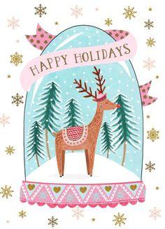 Felicity French - Happy-holidays-snowglobe-felicity-french