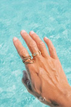 Show your love for the sea animals with these minimalist, dainty and beautiful gold stainless steel rings. Perfect gift for a friend or loved one with a love of the ocean. A great addition to any ocean lovers jewelry collection. Save the ocean with each of your purchase. Manta Ray, Whale Tail, Sea Shells, Ocean, Engagement Rings, Jewelry, Enagement Rings, Wedding Rings, Jewlery