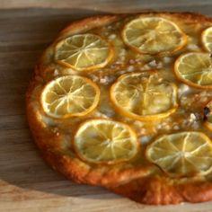 Meyer lemon focaccia - tart, crunchy, savory focaccia made with ...