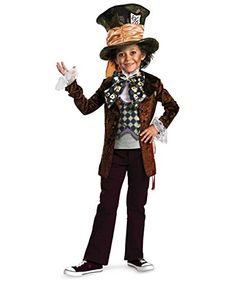 Deluxe Mad Hatter Child Costume Size 10-12 Large ** You can get additional details at the image link.