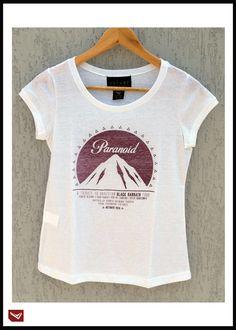 Novidade: tee feminina! Para as fãs de Balck Sabbath que não vêem a hora dessa turnê aterrizar no Brasil? A Volver não poderia deixar esse momento histórico passar batido. T-shirts exclusivas e limitadíssimas.