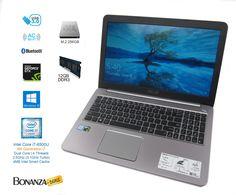 """ASUS K501U 15.6"""" Laptop - Intel i7-6500U 2.5GHz, 256GB SSD, 12GB, NVIDIA GTX 950M"""