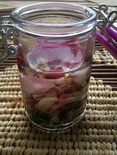 macerat paquerettes et rose