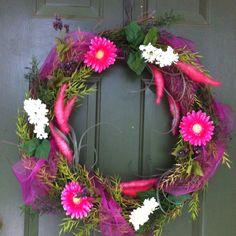 New spring wreath I made