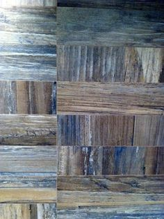 The Ariana tile by Mariana Pickering (Emu Architects) - Wood-grain textures in ceramic tiles.