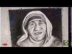 Mother Teresa - Graphite time-lapse portrait