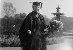 Belva Lockwood in 1915. (Harris & Ewing/US Library of Congress)