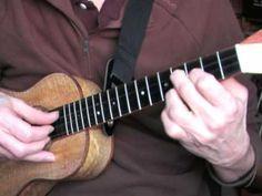 """EZ Ukulele Fingerpicking Blues Lesson on """"Turnarounds"""" in the key of A"""