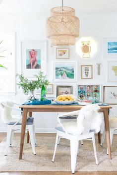 Boho Beach Bungalow: Boho Beach Bungalow: Dining Room Reveal