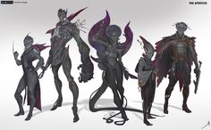 artstation character design the apostles,sci-fi,art,арт,oscar Alien Concept, Fantasy Concept Art, Fantasy Art, Character Concept, Character Art, Character Design, Character Sheet, Creature Concept, Sci Fi Art
