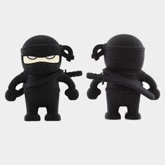 Ninja USB - Bone Design
