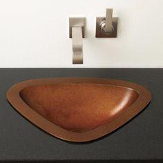 #lavabo #bronce  #bañosmodernos @grupotenue