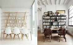 | 50 ejemplos para decorar con estanterías originales, modernas o curiosas