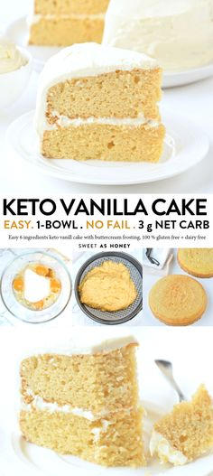 Keto vanilla cake diabetic birthday cake - Sweetashoney - Griffith Diet and Fitness Keto Cake, Keto Cupcakes, Keto Cheesecake, Keto Cookies, Diabetic Birthday Cakes, Keto Birthday Cake, Birthday Recipes, Healthy Birthday Desserts, Healthy Cake