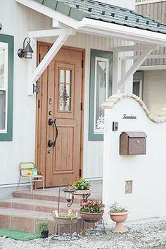 玄関 かわいい屋根 - Google 検索
