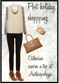"""""""Post Holiday Shopping"""" by cbslifestylist on Polyvore"""
