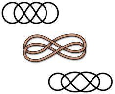 Infinity tattoo symbol